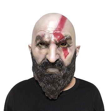 Mascara Halloween Terror, Zolimx Halloween Costume Party Accesorios de Goma de Látex Máscara de Cabeza