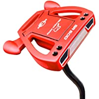 """Ray Cook Golf- LH Silver Ray SR500 Putter 35"""" Red (Left-Handed)"""