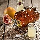 Kilner Glassware Drink Barrel, 34-Fluid Ounces