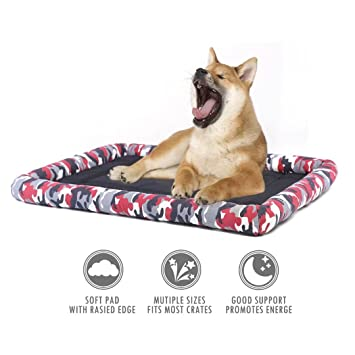 ubest Cama de Perro Cojín Cojín Cojín Camuflaje S M L XL: Amazon.es: Productos para mascotas