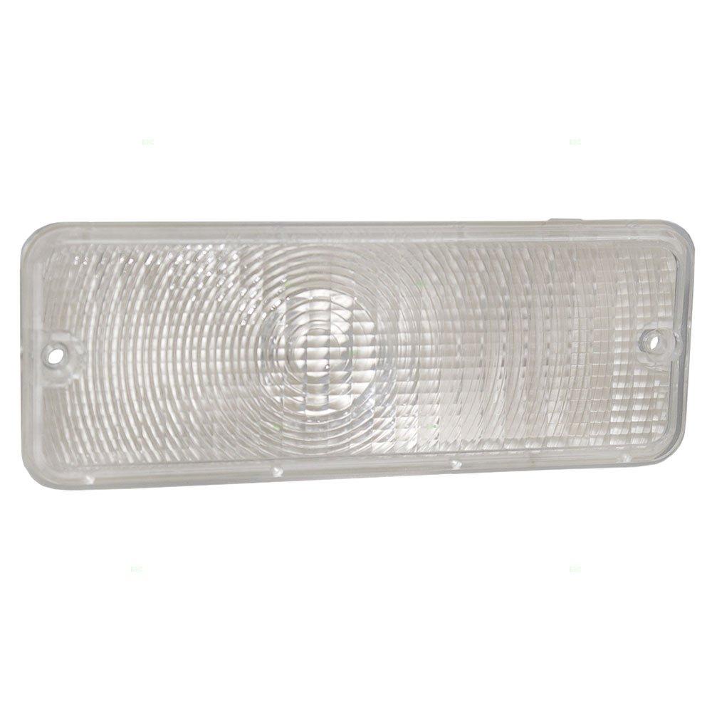 Park Signal Front Marker Light Lamp Clear Lens Replacement for Ford Pickup Truck D5TZ13200A AUTOANDART.COM