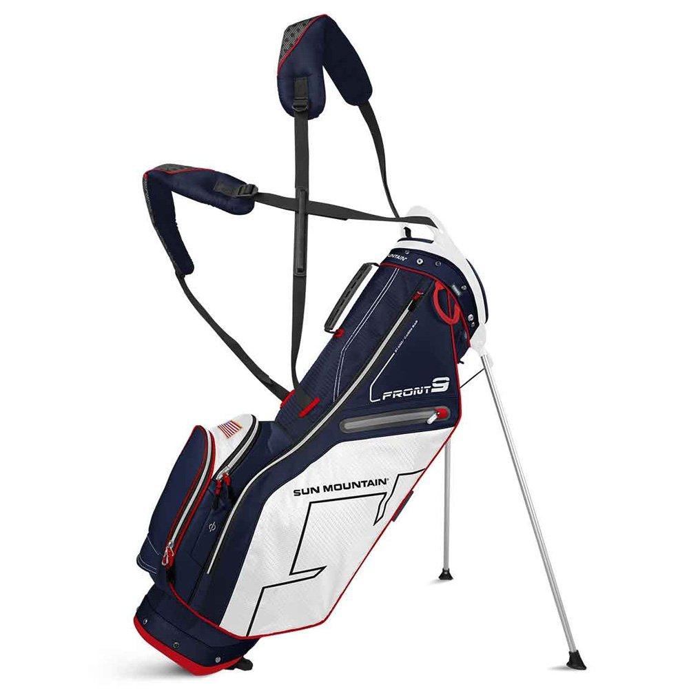 Sun MountainゴルフFront 9コンパクトスタンドCarryバッグ B01K2U0NU4 ネイビー/ホワイト/レッド ネイビー/ホワイト/レッド