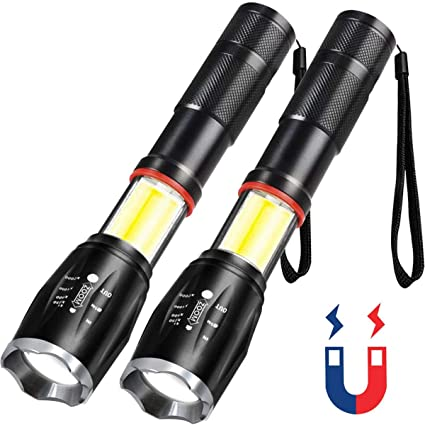LED Flashlights USB Rechargeable iToncs LED Torch Super Bright Waterproof Light