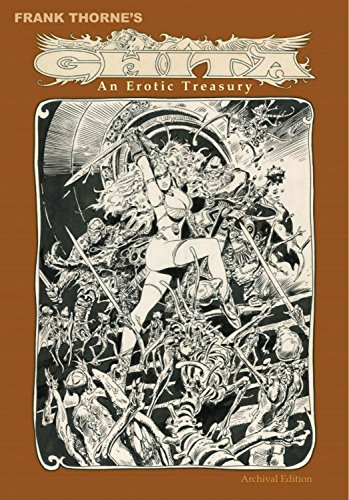 Frank Thorne's Ghita: An Erotic Treasury Archival Edition Volume 1