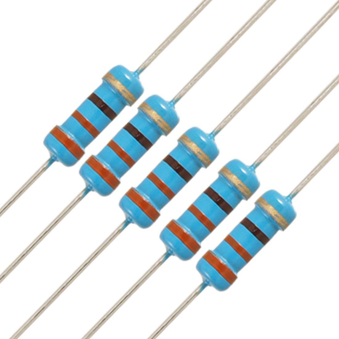 Uxcell a11102400ux0148 /Â 20 x 1//2W Watt 330 ohm 330R Carbon Film Resistor 0.5W