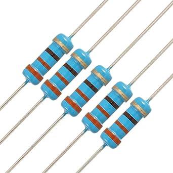 5 1//2 0.5 Watt Carbon Film Resistors 100 ohm 5/% Canada Resistor