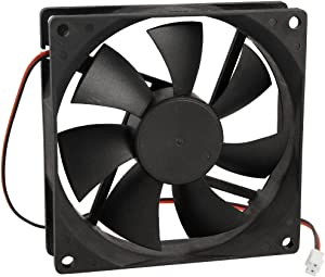 CWC-GROUPÂ 90mm x 25mm DC 12V 2 Terminals Cooling Fan for Computer CPU Case