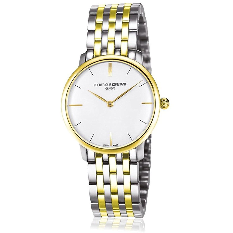 Frederique Constant Damen-Armbanduhr Analog Quarz Edelstahl beschichtet FC-200S1S33B