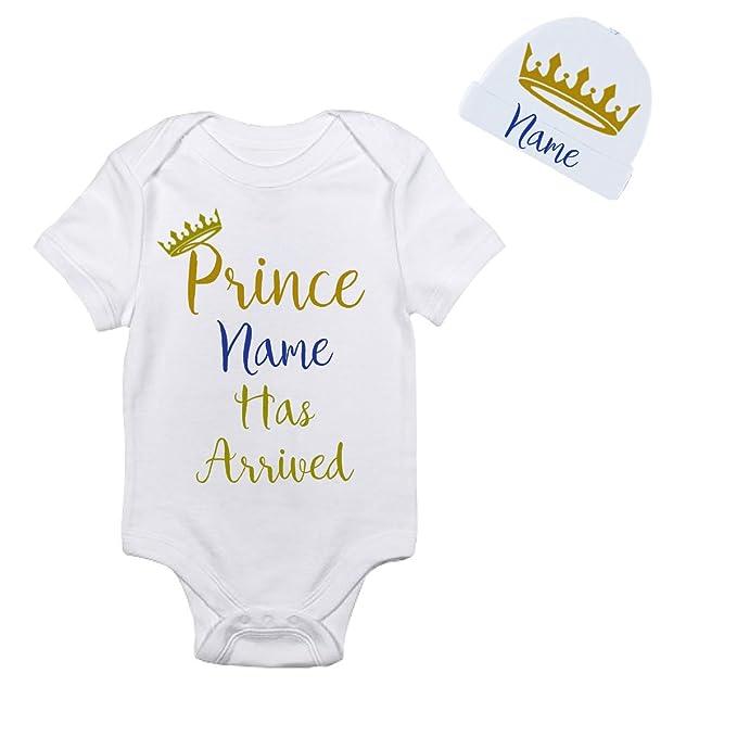 Amazon.com: Personalizado PRINCE ha llegado Oro Corona sobre ...