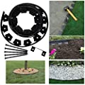 Dimex EasyFlex Tree Ring Kit 12ft Flexible Garden Border Edging No-Dig Pound In