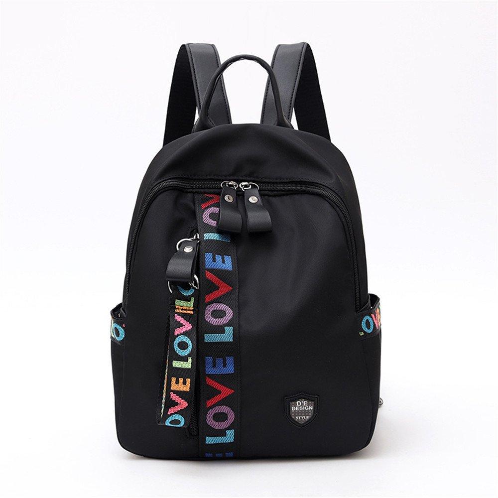 MSZYZ Oxford tessuto lady zaino borsa a tracolla tempo libero moda,nero,322412cm