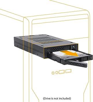 Icy Dock ExpressCage MB742SP-B - Rack extraíble de 2 x 2.5 SAS ...