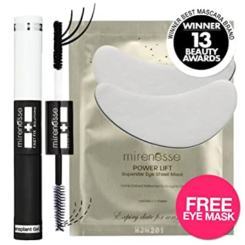 """Mirenesse Cosmetics"" 3D Fiber Lash Mascara Instant Lash ExtensionsFREE EYE ..."