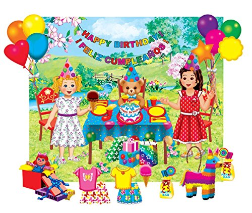 Little Folk Visuals Felt Fun: Birthday Party Precut Flannel/Felt Board...