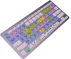 Primary Shortcuts/Finder/Safari/MS Office Wireless Bluetooth Shortcuts Keyboard Ultra Keyboard for Apple Mac,iMac,Android,Windows,iPad Ari,Mini,MacBook Pro/Air,Surface,XS,XS Max,XR