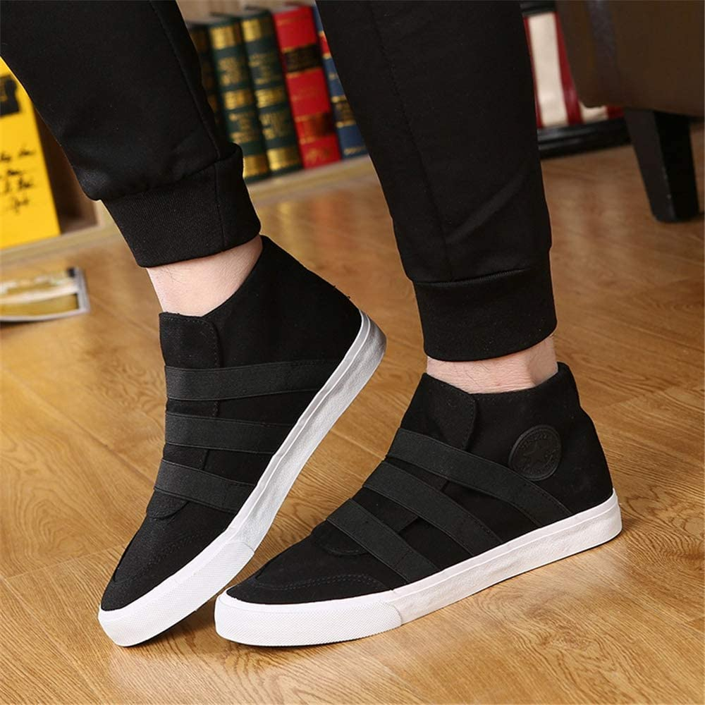 Fashion Canvas Slip-on Loafers Shoes for Men Shoes Clean Cut Loafer