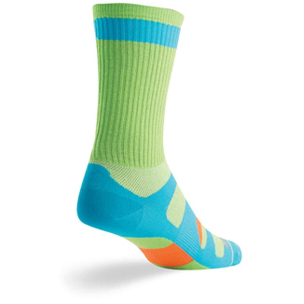 SockGuy Crew 6in Matrix Cycling//Running Socks