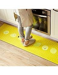 Charming Ukeler Non Slip Rubber Backing Kitchen Rugs Yellow Lemon Decorative Floor  Mat Indoor/Outdoor Doormat Bath Rug,17.7u0027u0027×31.5u0027u0027