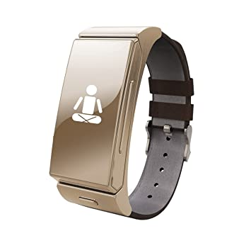 Sportwatch Reloj con bluetooth integrada U smart Apk para android, ios, color dorado: Amazon.es: Electrónica