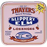 Slippery Elm Lozenges by Thayers - 42 piece, Cherry