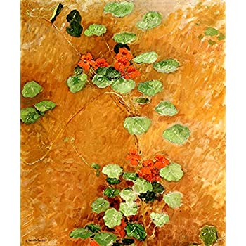KITCHEN GARDEN VEGETABLE PLANTATION 1882 FRENCH PAINTING BY CAILLEBOTTE REPRO