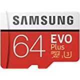 Samsung MicroSD EVO Plus Series 100MB/s (U3) Micro SDXC Memory Card with Adapter MB-MC64GA (64GB)