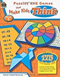 Puzzles and Games that Make Kids Think Grd 4: Grade 4