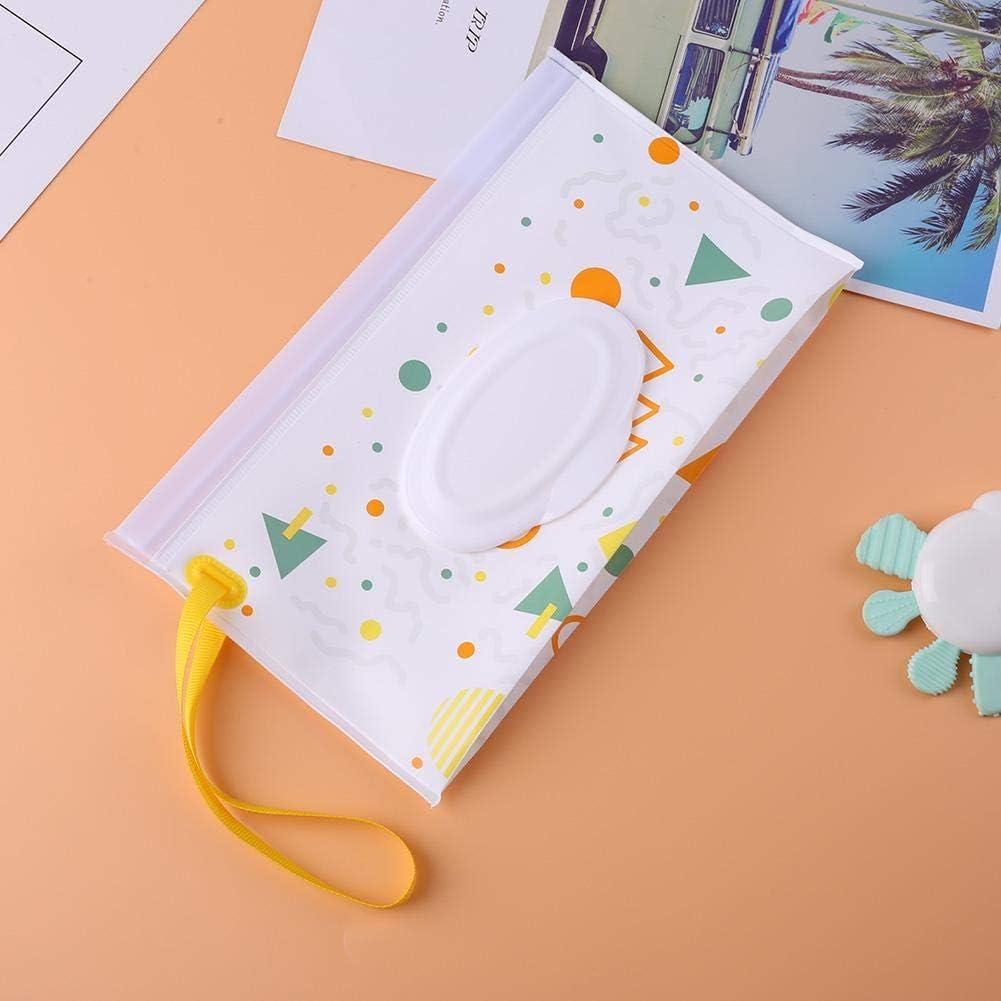 N// A Tragbarer Wischtuchbeh/älter Eva Wet Tissue Stroller Bag Kosmetiktasche A