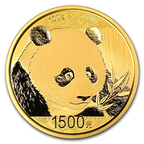 2018 CN China 100 gram Gold Panda Proof (w/Box & COA) Gold Brilliant Uncirculated