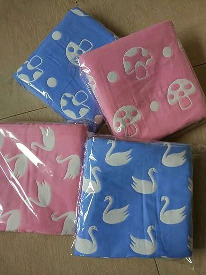 Gasa Claee toallas son siete capas de puro algodón engrosamiento toalla, 2.2*2.4 Adult