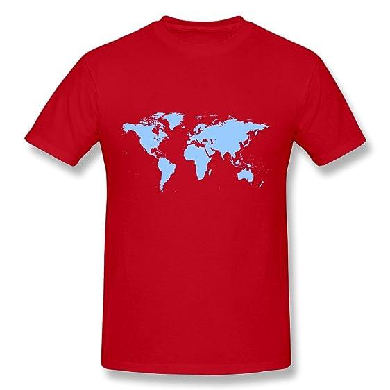 World map shirt t shirts for men mens tee shirt at amazon mens world map shirtt shirts for menmens tee shirt gumiabroncs Gallery