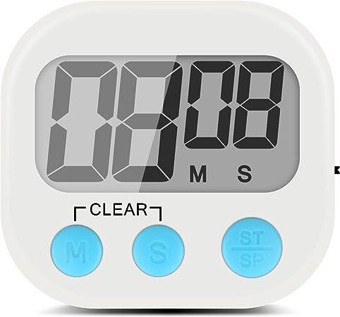 Compra Temporizador digital y cronómetro, pantalla LCD grande ...