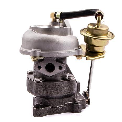 maXpeedingrods RHB31 VZ21 Turbo Turbocompresor de Motor Coche para Quads Rhino Motocicleta agua y aceite refrigerado