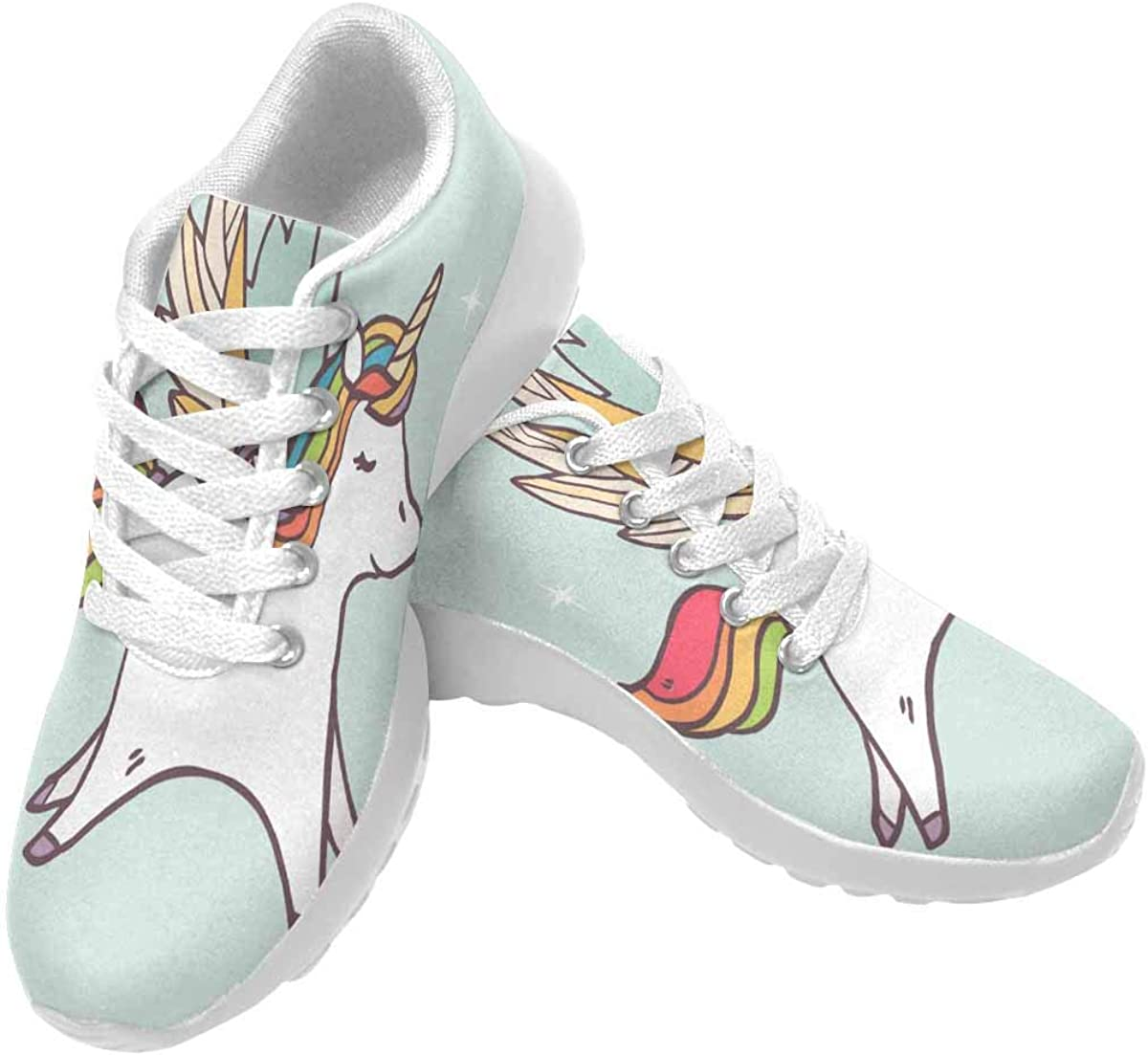 Sports Flywire Knitting Shoes For Boy Girl,Print Bird Flower,