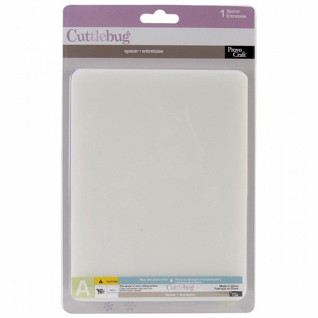 Cuttlebug Spacer Plate A 6X7-6X7