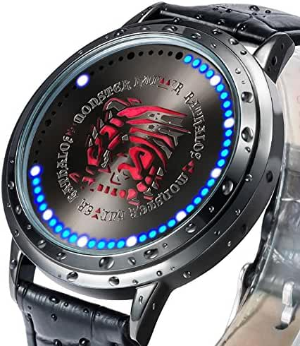 Wildforlife Monster Hunter Rathalos Icon Collector's Edition Touch LED Watch