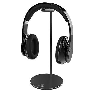 Lamicall Soporte para Auriculares : Universal Soporte para Auriculares Gaming con Barra de Soporte Cilíndrica de