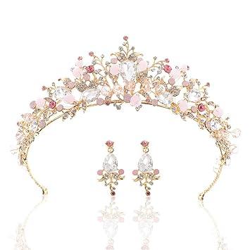 Braut-accessoires Kleidung & Accessoires Tiara Xl Diadem Krone Strass Kristall Perlen Brautschmuck Hochzeit Silber Neu