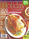 img - for BHG HOLIDAY RECIPES 202 New & Traditional Recipes [Single Issue] 2011 (Better Homes & Gardens) book / textbook / text book