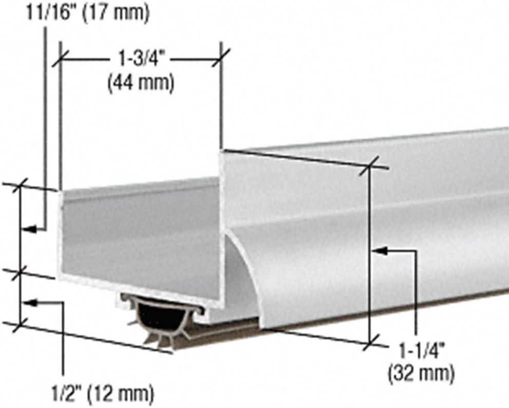 """31-3//4/"""" 806 mm Aluminum /""""U/"""" Shape Door Bottom"""