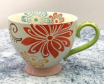 HONGYUANZHANG Tazas De Cerámica Tazas De Desayuno Tazas De Fideos De Harina De Avena Tazas De Leche En Casa (9,5 X 15,5 Cm),K: Amazon.es: Hogar
