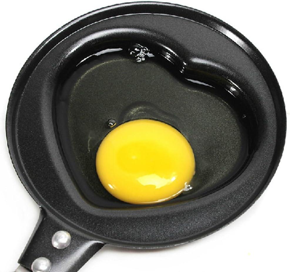 LIKEZZ Oeuf cr/êpes po/êle Omelette Petit d/éjeuner Mini moules /à Casserole antiadh/ésif Moule de Batterie de Cuisine de Dessin anim/é Oeuf Cuisine 4
