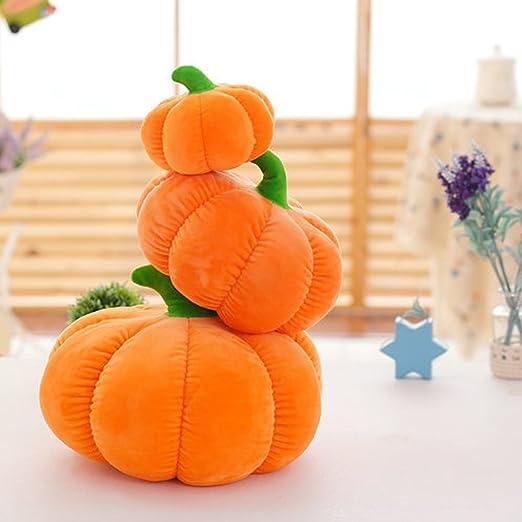 jiele calabaza almohada peluche algodón muñeca de Creative hortalizas decorativo Cojín para sofá carcasa calabaza almohada, 18cm/7in: Amazon.es: Hogar