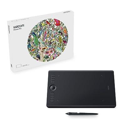 Wacom Intuos Pro PTH660 Medium Graphics Input Tablet (Black)