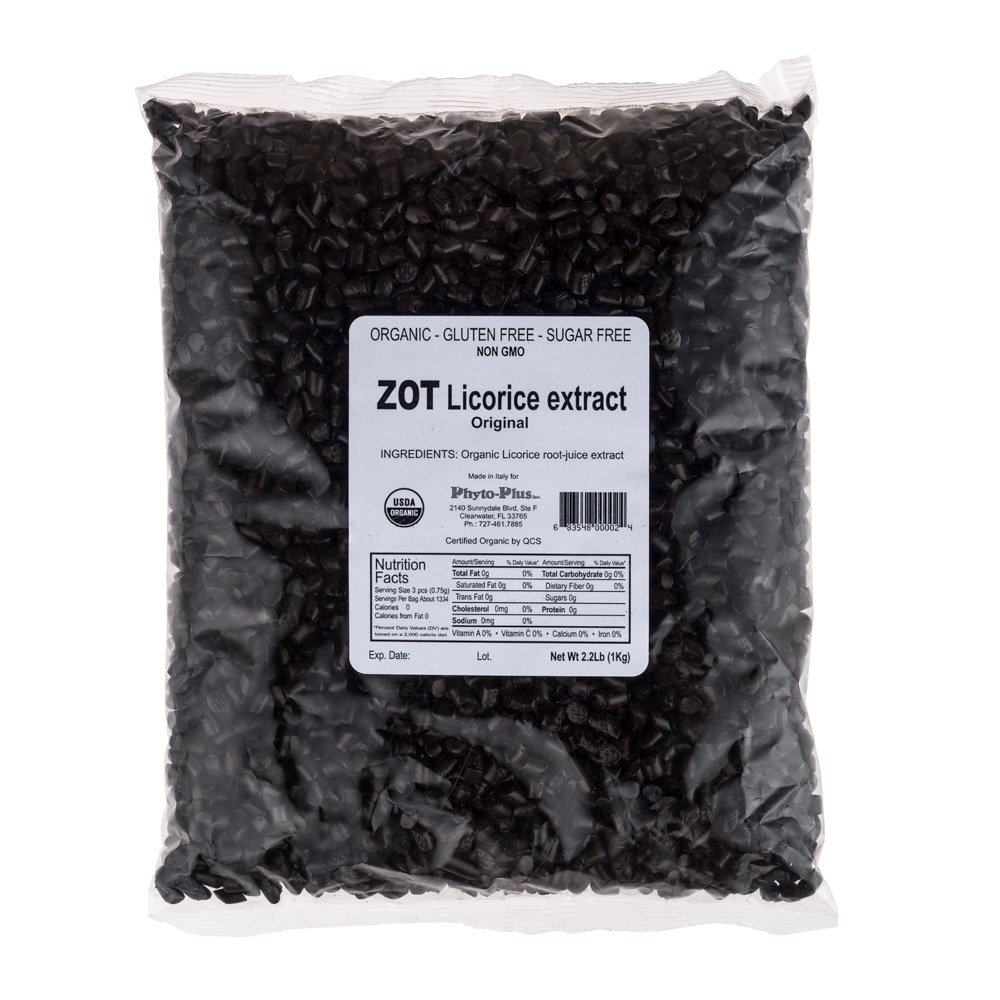 ZOT Organic Licorice Root Extract In Bulk, 2.2 Pound