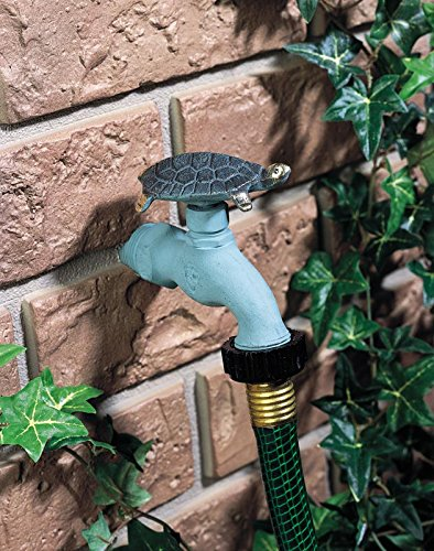 Flora and Fauna Turtle Decorative Garden Faucet