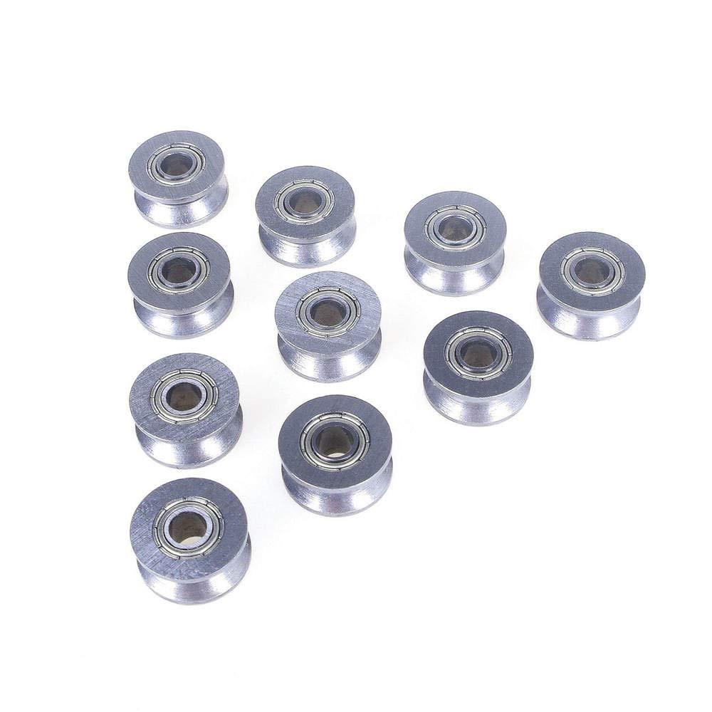 Angeek V624ZZ V Lot de 10 boules de roulement /à billes 4 x 13 x 6 mm