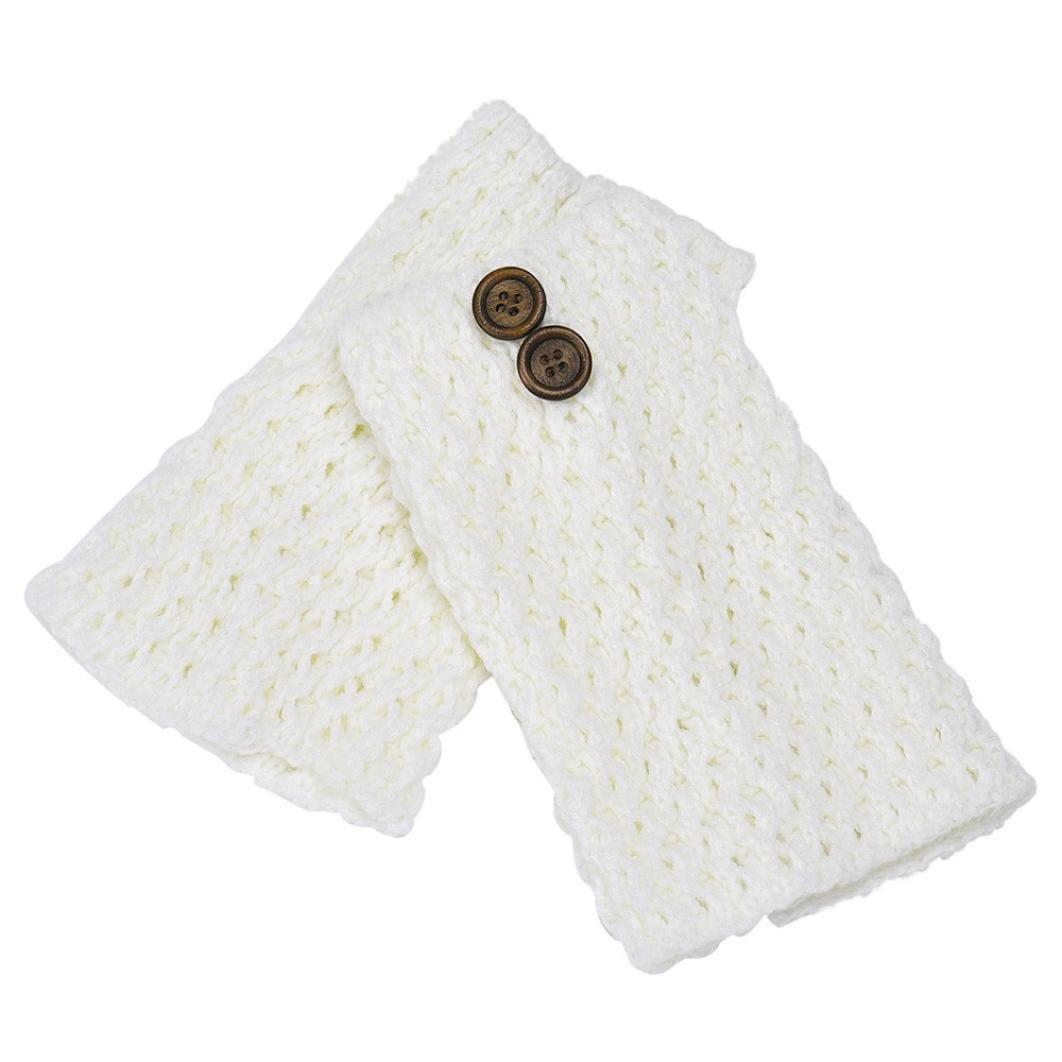 Malloom® tejer ahuecar tela asargada calentadores de la pierna ...