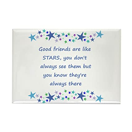 Amazoncom Cafepress Good Friends Are Like Stars Inspirational