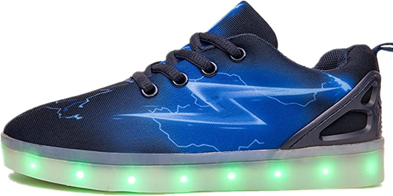 Jedi fight back Kids LED Light up Shoes USB Charging Flashing Sneakers for Boys Girls.